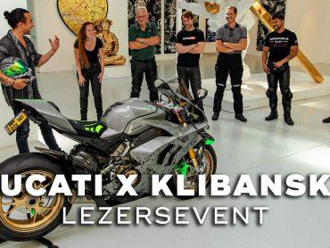 Ducati motoren X Joseph Klibansky – Lezersevent