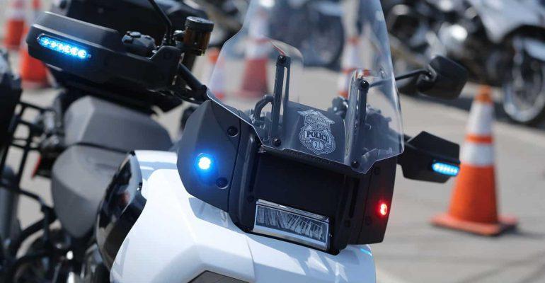 Zien: Harley-Davidson Pan America Politiemotor