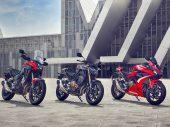 Honda CB500F, CBR500R en CB500X vernieuwd voor 2022