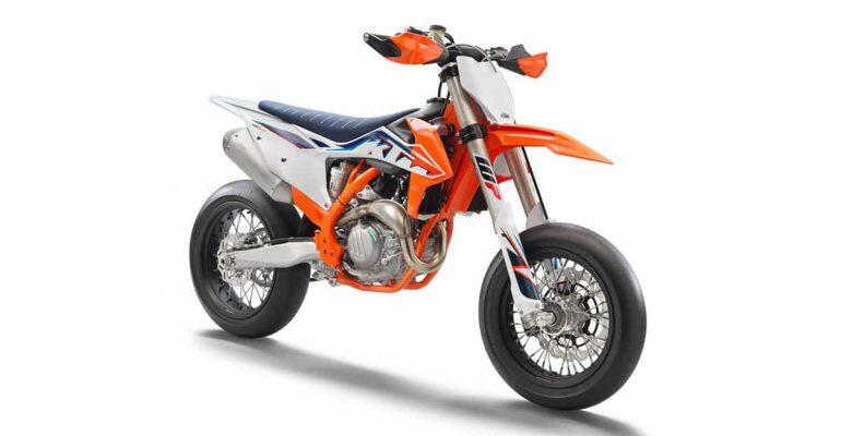 KTM 450 SMR 2022 is nu verkrijgbaar