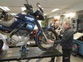 Marathonmotor: Kawasaki KLE500