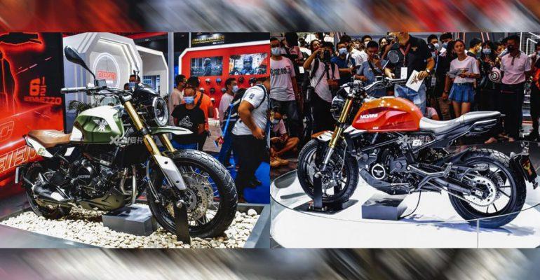 Moto Morini Seiemmezzo: Strada en Scrambler op de Chongqing Motor Show