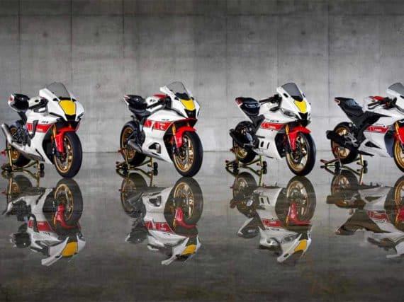 Yamaha viert 60 GP-racejaren met jubileumuitvoeringen
