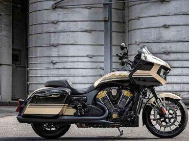 Indian Challenger Dark Horse Jack Daniel's limited edition