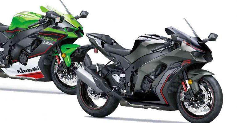 2022 Kawasaki Ninja ZX-10R: nieuwe kleuren