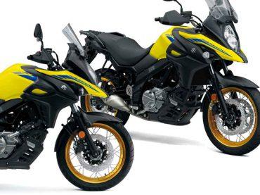 2022 Suzuki V-Strom 650: nieuwe kleuren