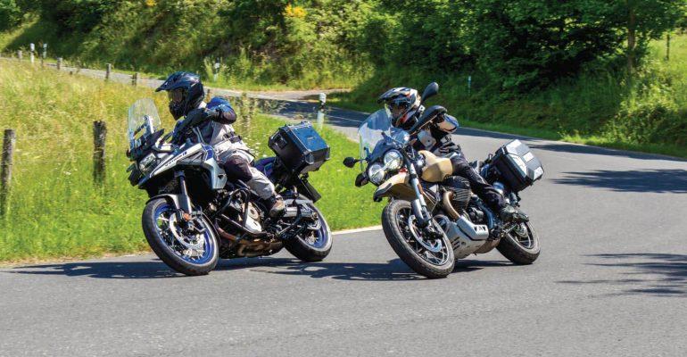 Dubbeltest: Moto Guzzi V85 TT Travel vs. Suzuki V-Strom 1050XT