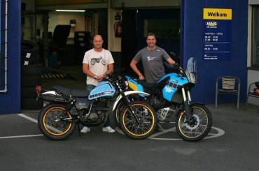 Terug naar Dakar met de eerste motor die er won – Dakar Legends Trail 2022