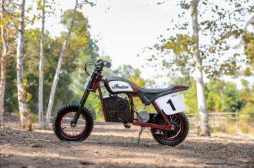 Indian Motorcycle introduceert eFTR Mini elektrische jeugdfiets