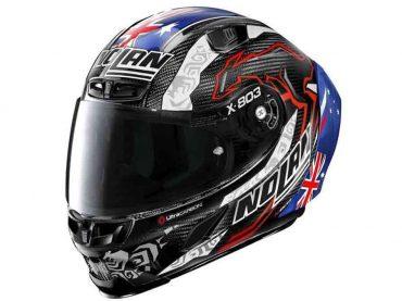 Nolan X-803-helm eert Casey Stoner's 2011 MotoGP-titel