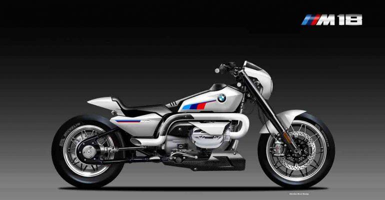 BMW R 18 Motorsport, studie van Oberdan Bezzi