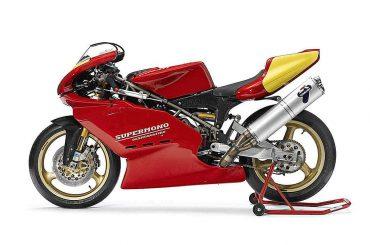 Pierre Terblanche werkt aan nieuwe Ducati Supermono