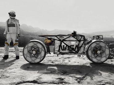 Tardigrade: 's werelds eerste motorfiets voor op de maan