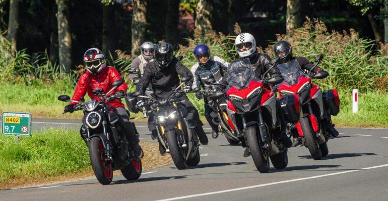 Lezerstest Ducati motoren X Joseph Klibansky